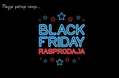 BLACK FRIDAY rasprodaja 23-28 novembar