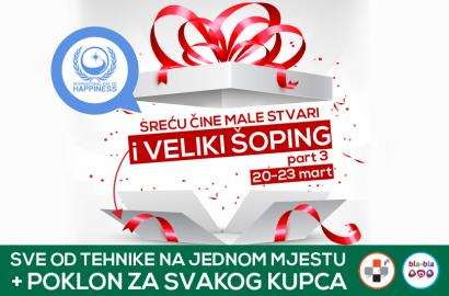 DAN(i) sreće: VELIKI šoping vikend part 3