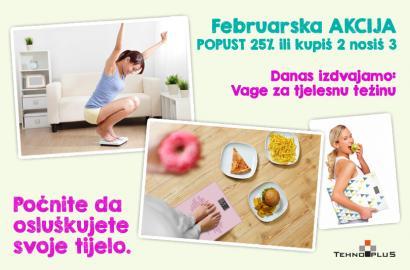 Danas izdvajamo: Vage za tjelesnu težinu
