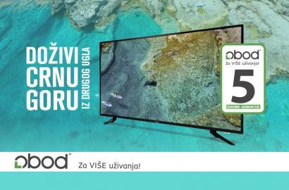 Doživi Crnu Goru iz drugog ugla: Nova serija TV LED LOBOD