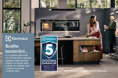Electrolux samostojeća i ugradna tehnika 5 godina garancije