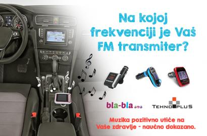 FM transmiteri za svačiji (muzički) ukus