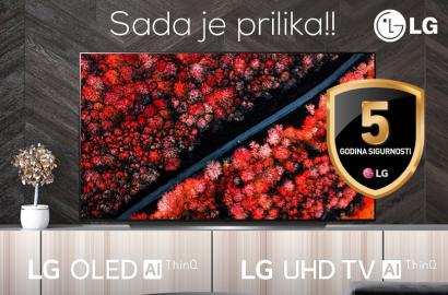 LG UHD i OLED TV 5 godina garancije