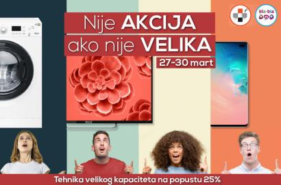 Nije AKCIJA ako nije VELIKA: Šoping vikend part4