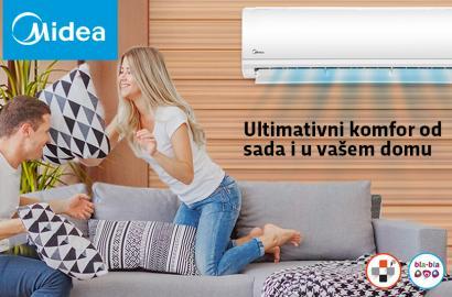 NOVO u ponudi: MIDEA klima uređaji