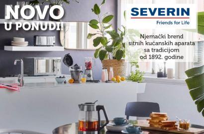 NOVO u ponudi: Severin sitni kućanski aparati