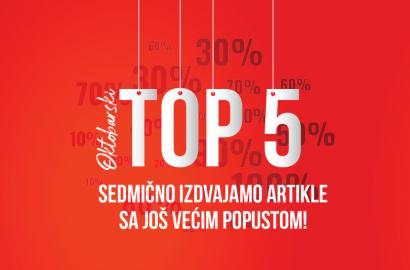 Oktobarski TOP 5