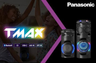 Panasonic TMAX Party zvučnici – muzika bez granica!