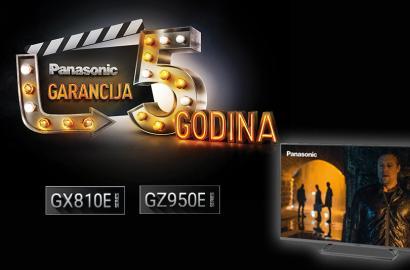Panasonic TV LED 5 godina garancije