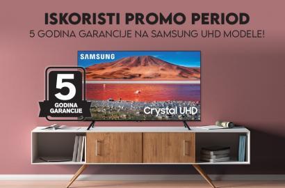 TV SAMSUNG UHD 5 godina garancije