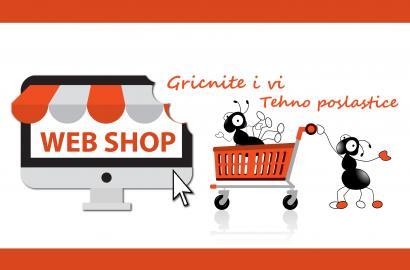 Zašto WEB SHOP ?